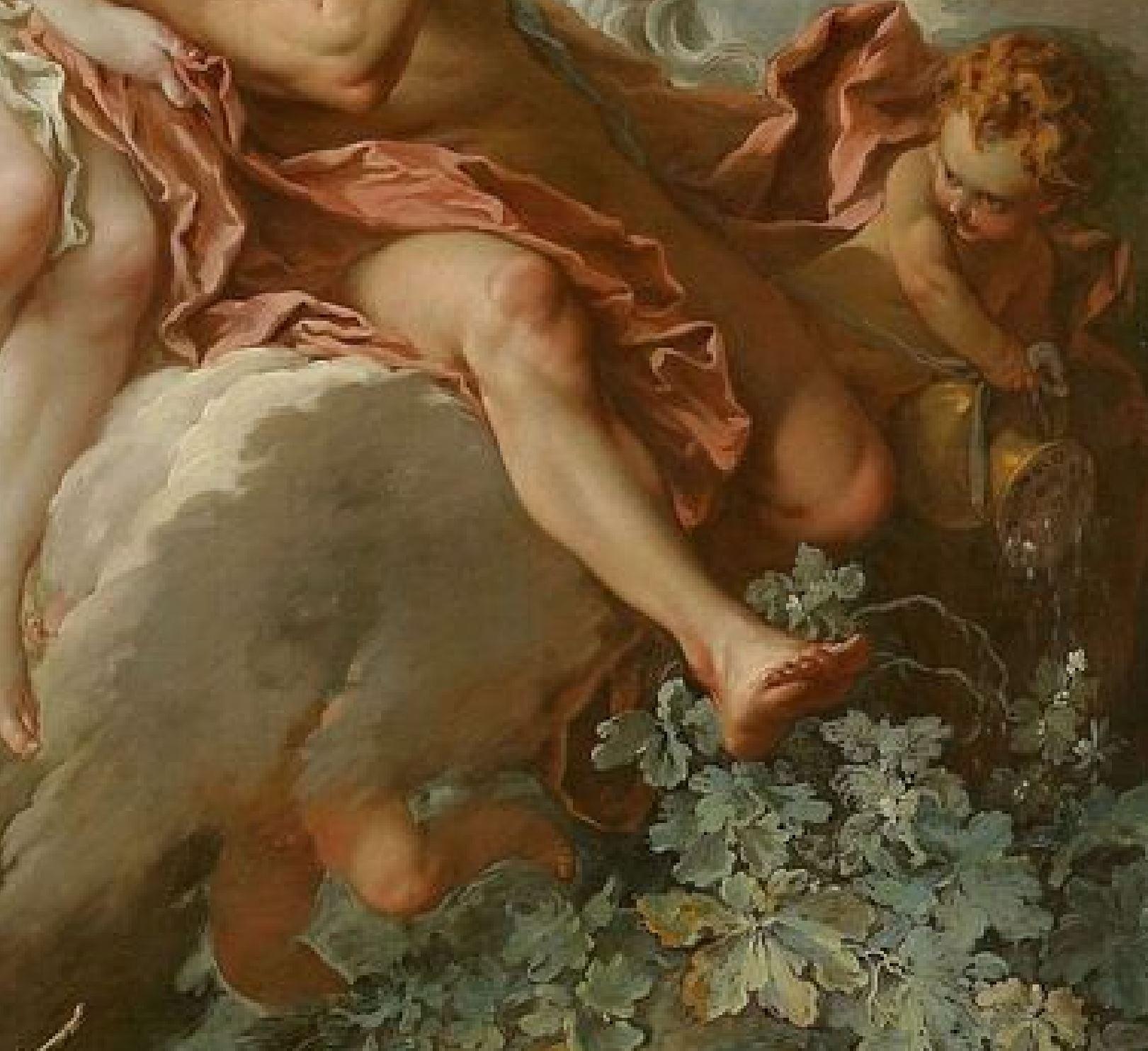 Boucher 1732 Aurore et Cephale Musee de Nancy detail