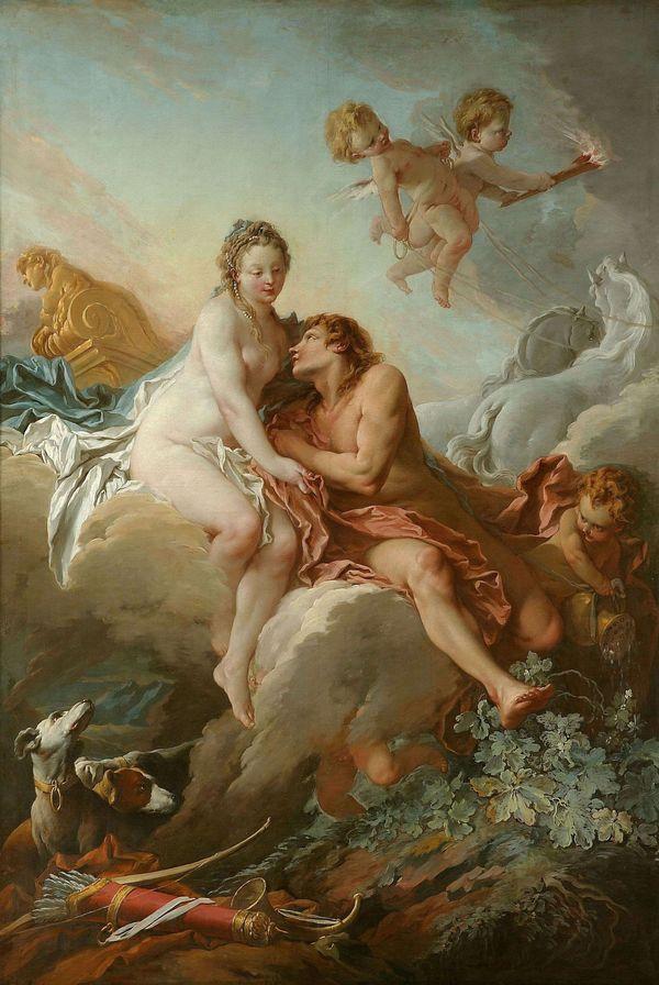 Boucher 1732 Aurore et Cephale Musee de Nancy