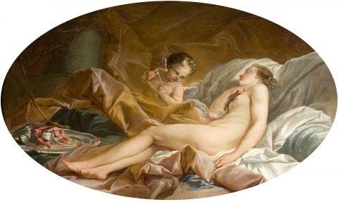 Boucher 1735 Le_Sommeil_de_Venus Musee Jacquemart Andre