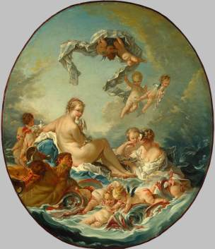 le triomphe de vénus 1743 françois boucher Hermitage Museum