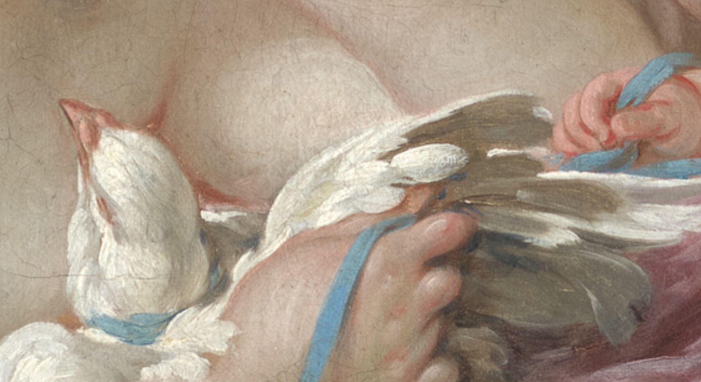 Boucher 1751 La toilette de Venus MET detail3