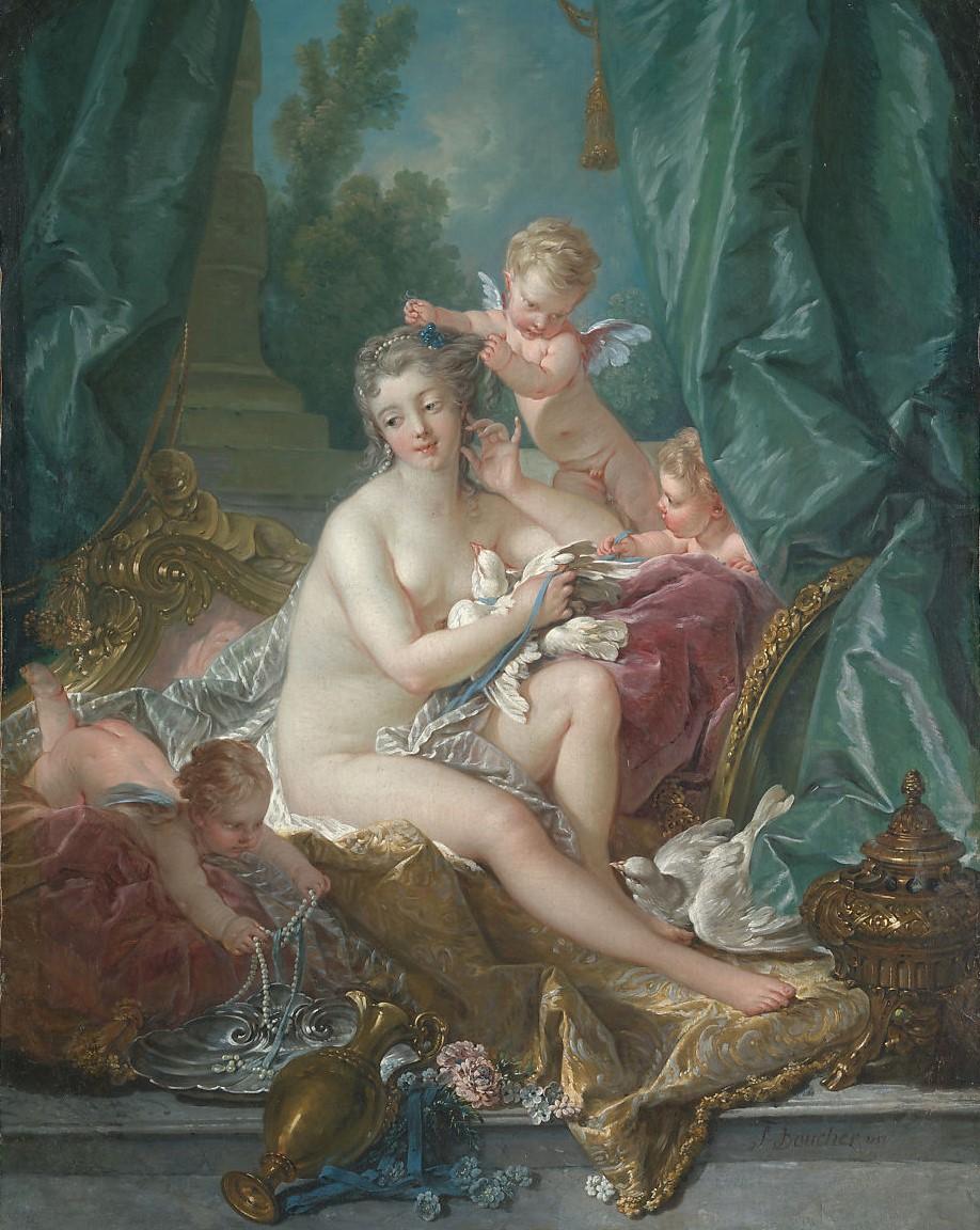 Boucher 1751 La toilette de Venus MET