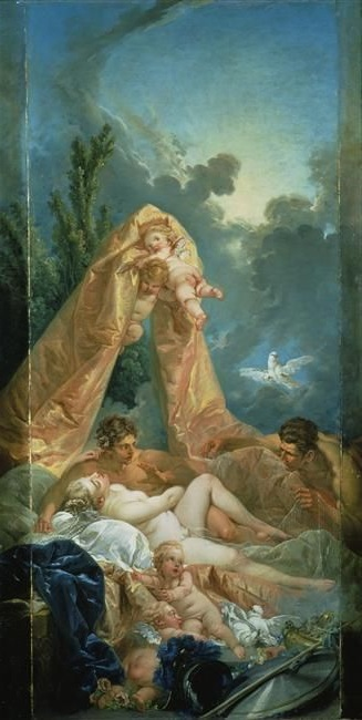 Boucher 1754 Mars Et Venus Wallace collection