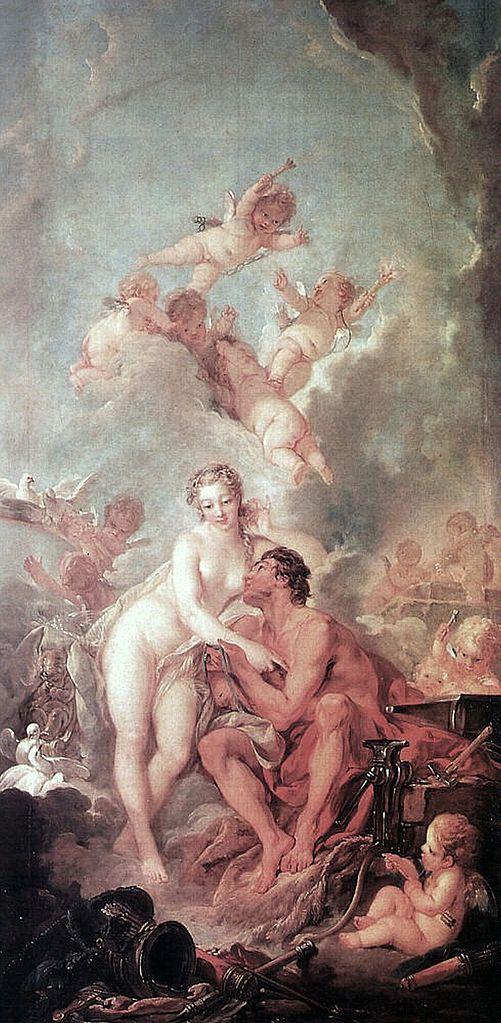 Boucher 1754 Venus et Marc (anct Venus chez Vulcain) Wallace collection