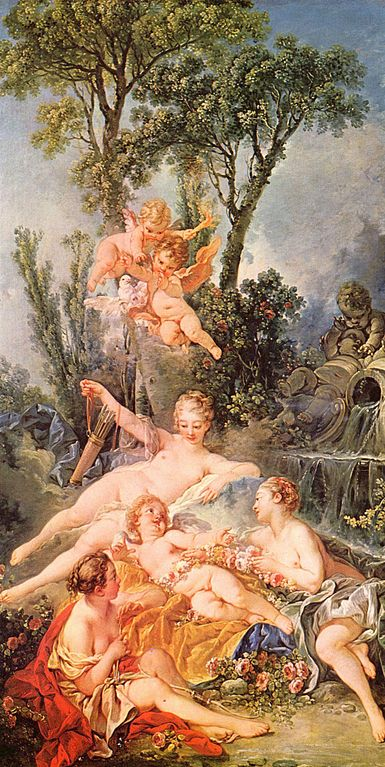 Boucher 1754 l'amour prisonnier Wallace collection