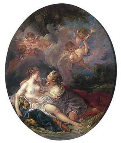 Boucher 1760b Jupiter et Callisto coll priv