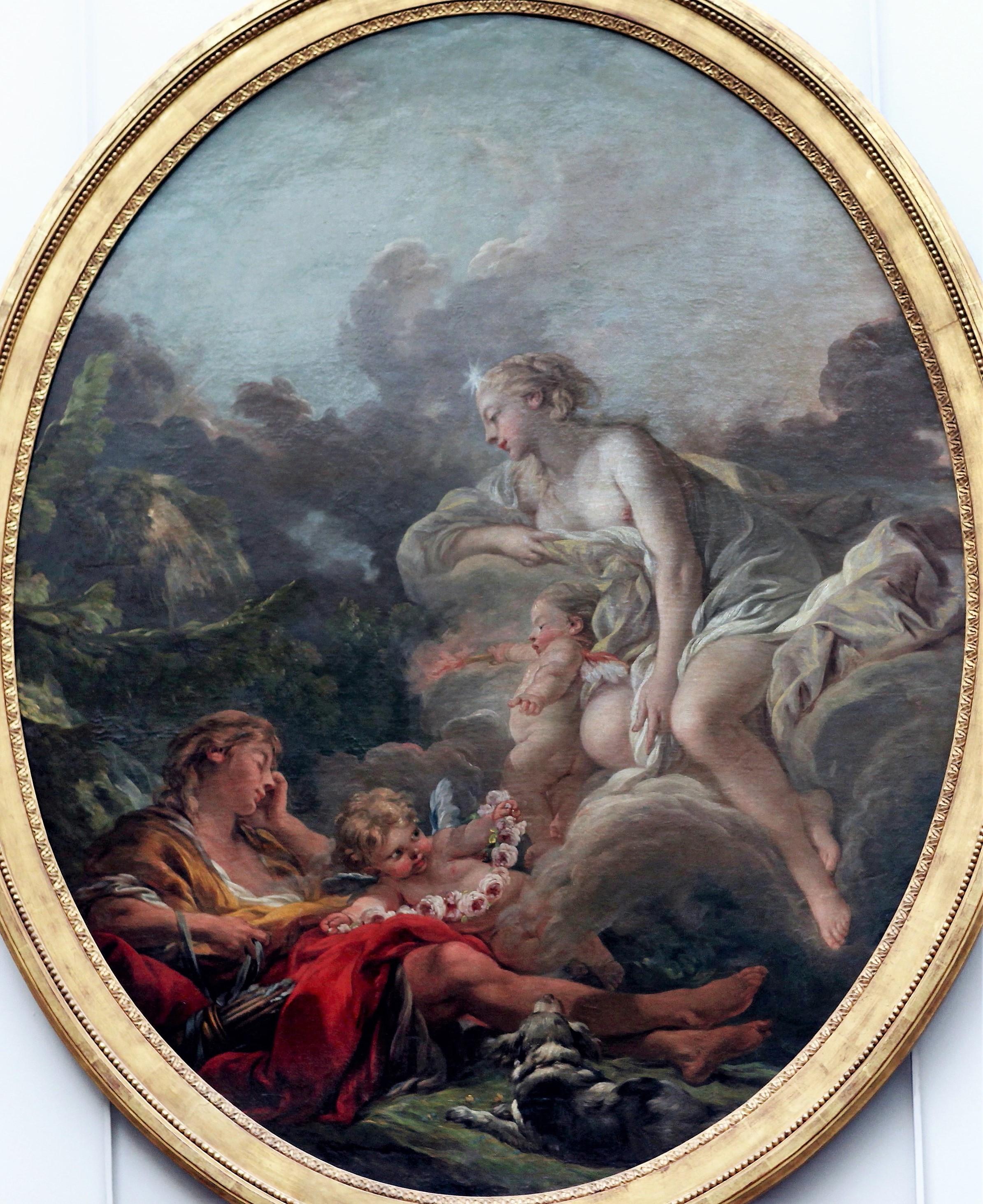 Boucher 1764a Cephale_et_l'Aurore Louvre photo JL Mazieres