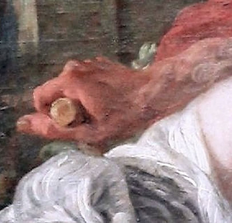 Boucher 1764a Vertumne_et_Pomone Louvre photo JL Mazieres detail 1