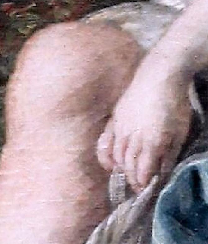 Boucher 1764a Vertumne_et_Pomone Louvre photo JL Mazieres detail 2