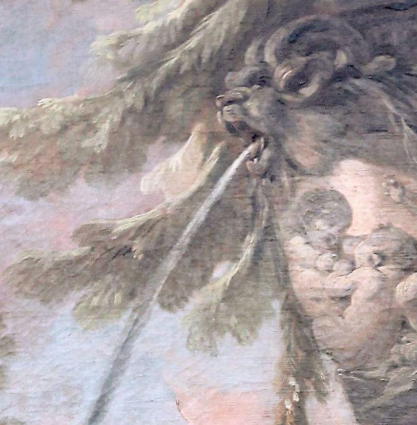 Boucher 1764a Vertumne_et_Pomone Louvre photo JL Mazieres detail1