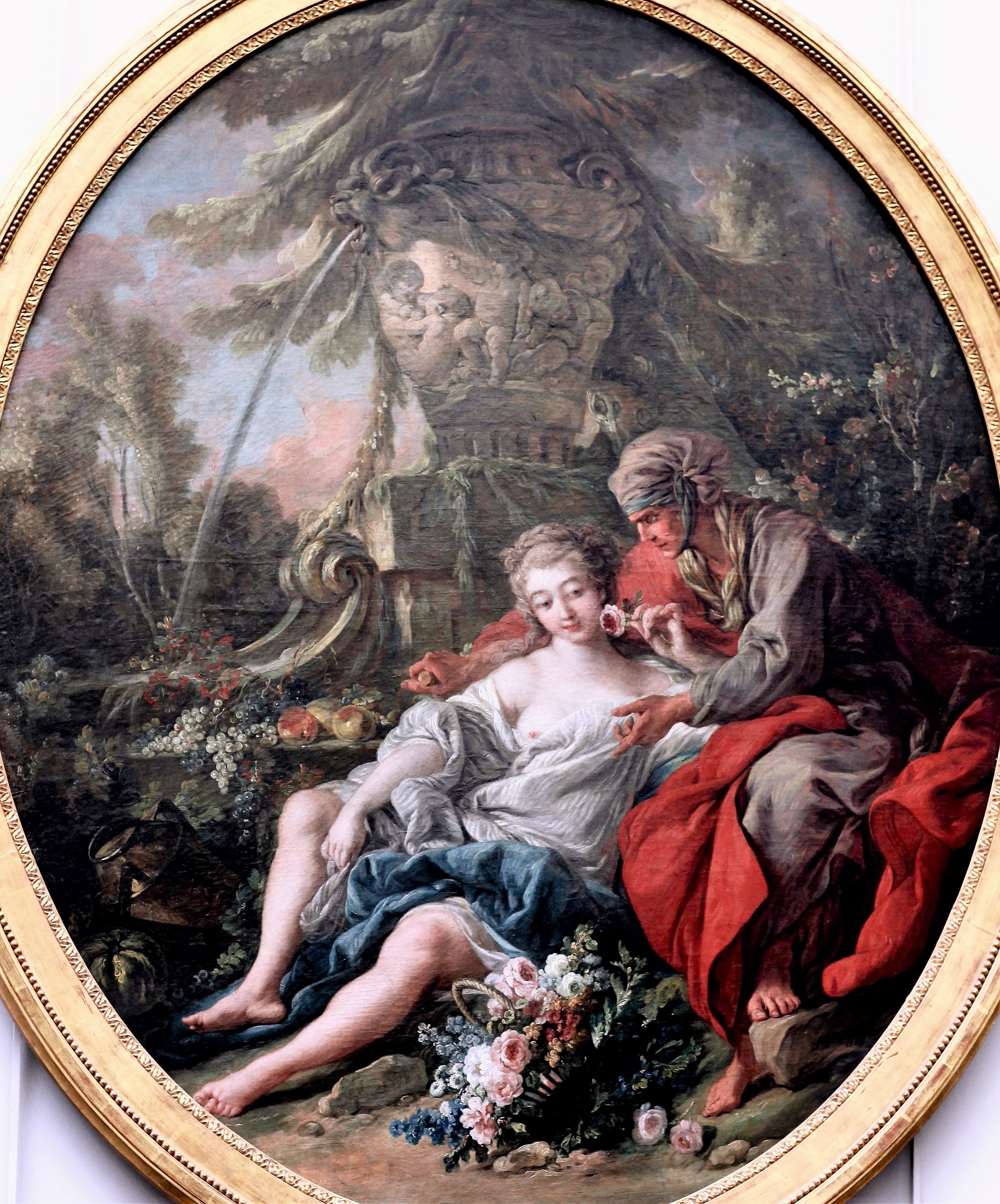 Boucher 1764a Vertumne_et_Pomone Louvre photo JL Mazieres