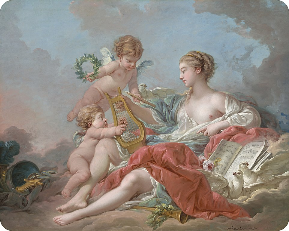Boucher 1765 Allegory_of Music NGA