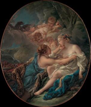 Boucher 1765 Jupiter transforme en Diane pour surprendre Callisto MET