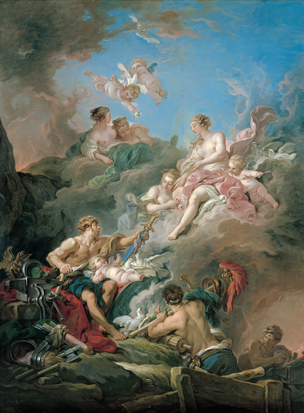 Boucher 1769a Venus_at_Vulcan's_Forge Kimbell Art Museum