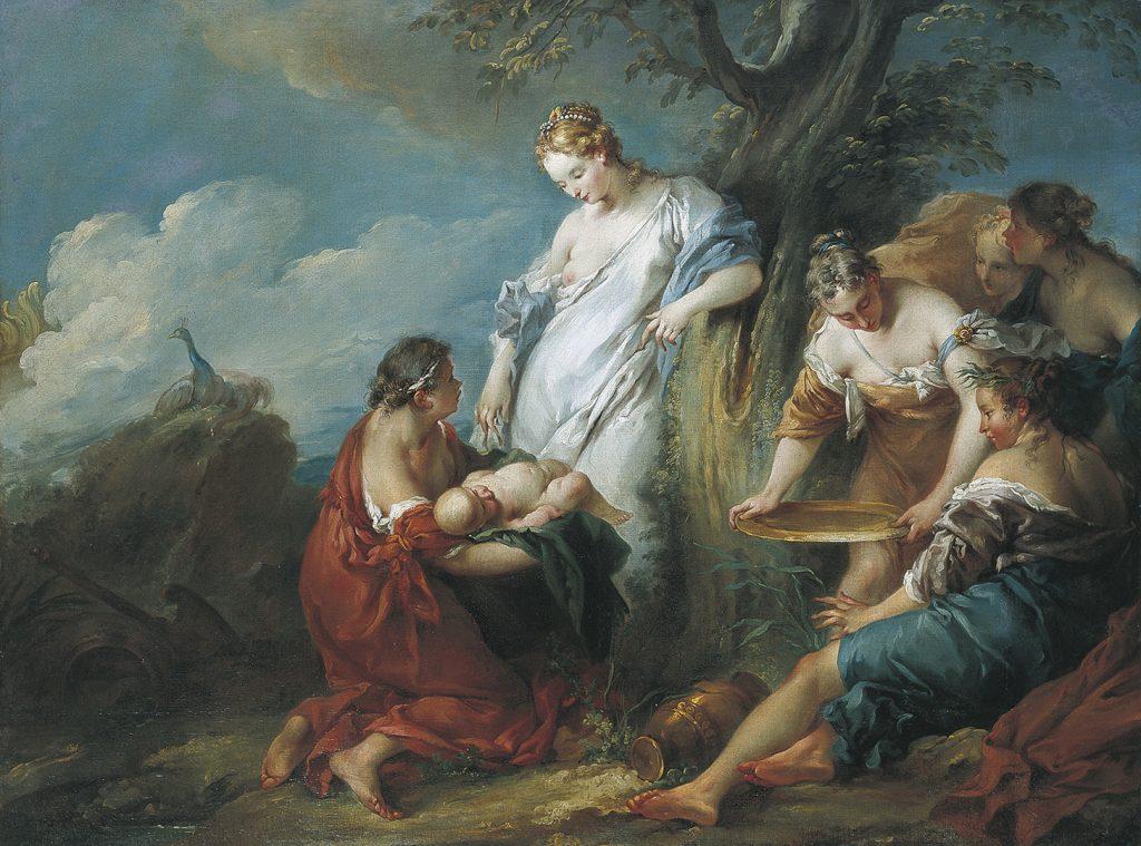 Boucher Nascimento de Adonis , 1733 Casa-Museu Medeiros e Almeida Lisbonne