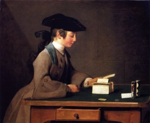 Chardin Y Le chateau de cartes 1736 37 National Gallery Londres