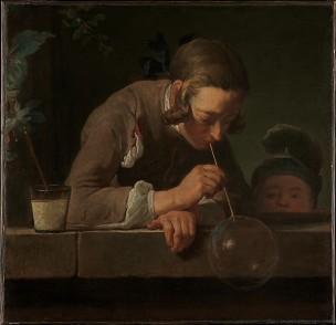 Chardin Y Les bulles de savon MET 1733-34