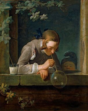 Chardin YLes bulles de savon 1733-34 National Gallery of Arts Washington