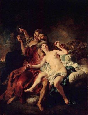 De TRoy 1721 Loth et ses filles Ermitage