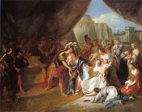 De Troy 1715 Coriolan devant Rome Musee Antoine-Lecuyer St Quentin