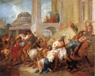 De Troy 1716 Enlevement des Sabines Musee Antoine-Lecuyer St Quentin