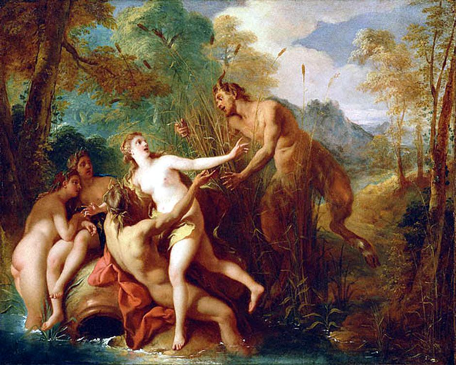 De Troy 1722-24 Pan et Syrinx Getty Museum Malibu