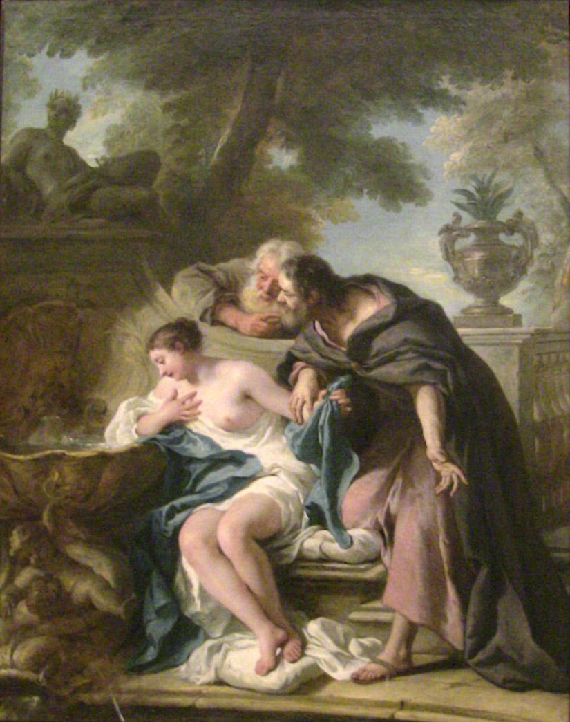 De Troy 1727 Suzanne et les Vieillards Musee des Beaux Arts Rouen