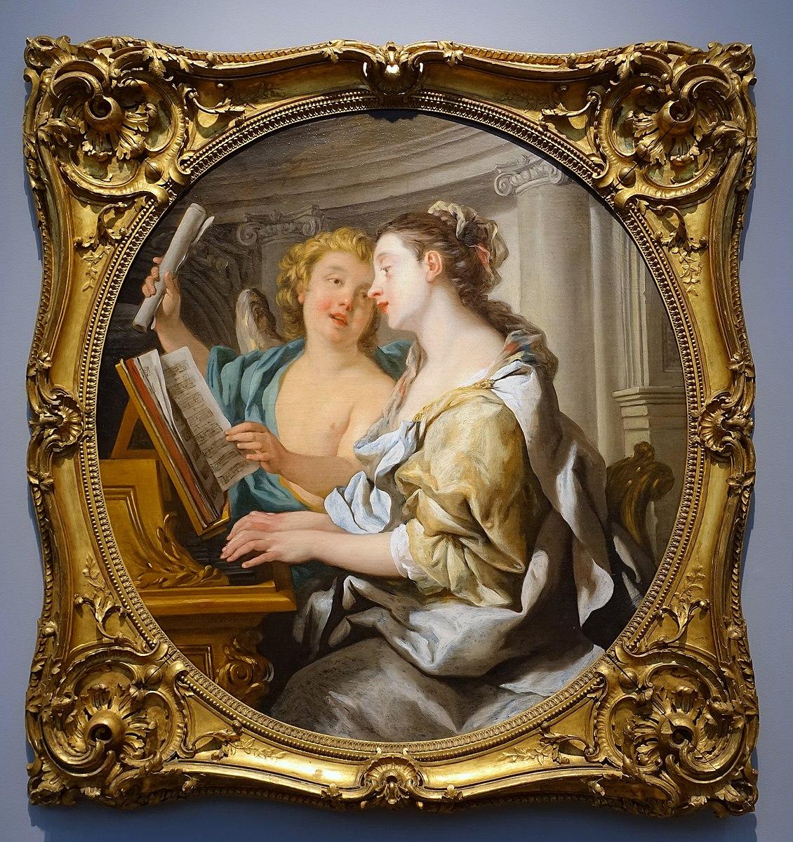 De Troy 1733 Allegory of Music Portland Museum