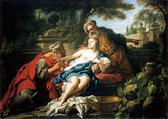 De Troy 1748 Suzanne et les Vieillards Museo de Arte de Ponce, Porto Rico