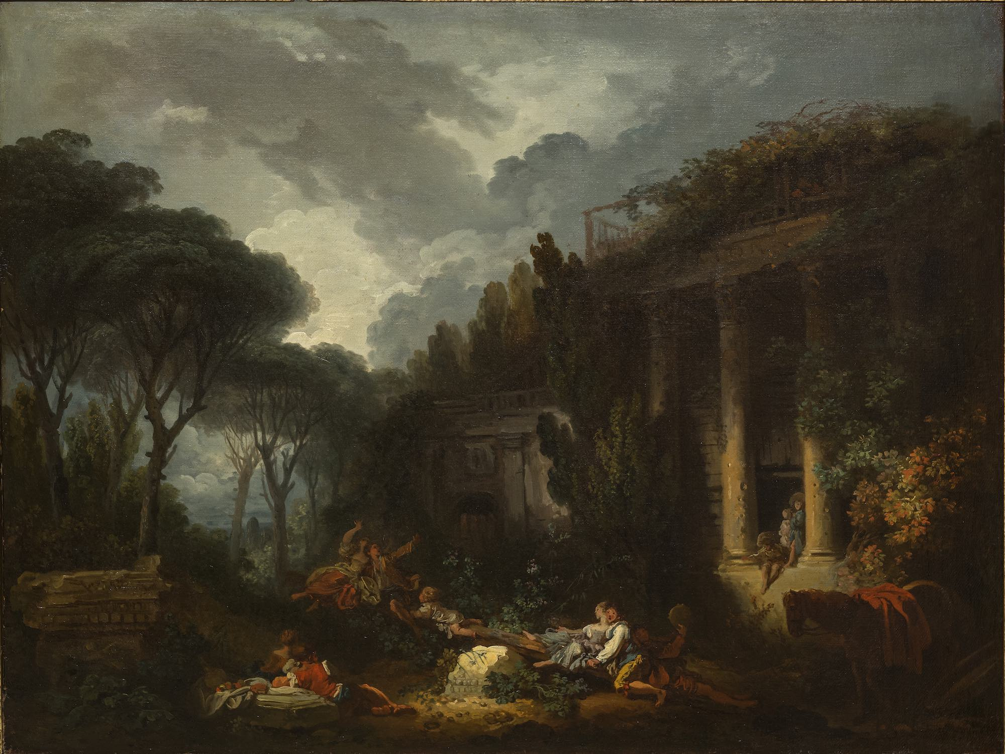 Fragonard 1761 ca Le jeu de la bascule