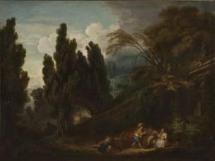 Fragonard 1761 ca Le jeu de la palette