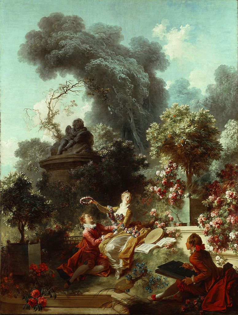 Fragonard 1771-72 The_Progress_of_Love 3 The_Lover_Crowned Frick Collection