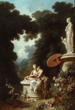 Fragonard 1771-72 The_Progress_of_Love 4 Love_Letters Frick Collection