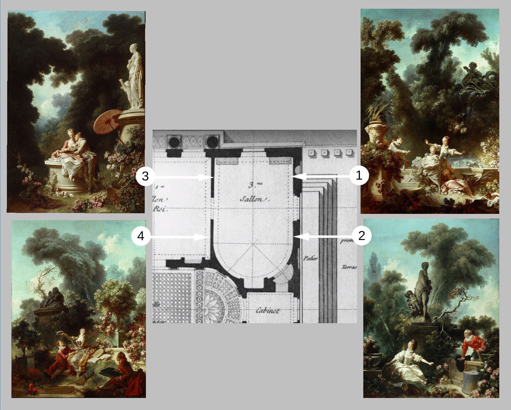 Fragonard 1771-72 The_Progress_of_Love Reconst 1