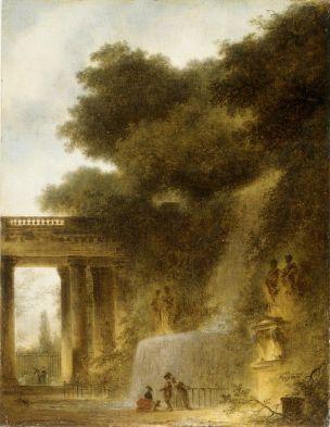 Fragonard 1775 La Cascade MET 29 × 24 cm