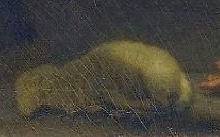 Fragonard 1775 adoration_des_bergers_Louvre 73 × 93 cm agneau