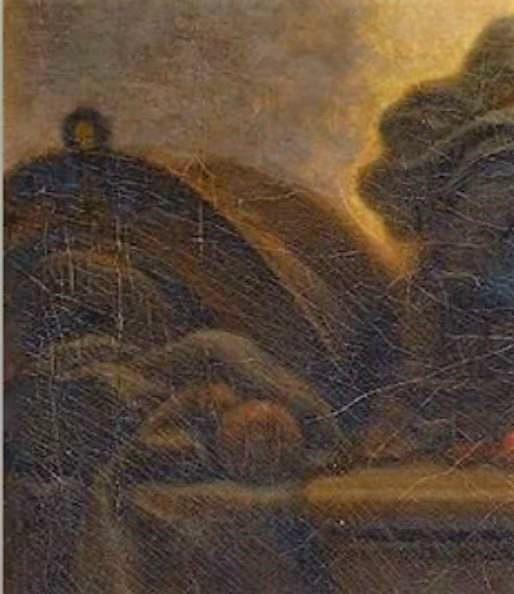 Fragonard 1775 adoration_des_bergers_Louvre 73 × 93 cm detail gourde