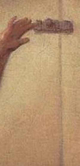 Fragonard 1777 Le verrou Louvre 73 × 93 cm detail verrou seul