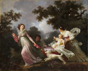 Fragonard 1780-85 Marguerite Gerard l enfant cheri The beloved child Harvard Art Museums, Cambridge