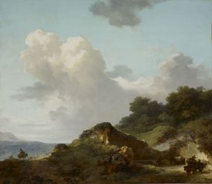 Fragonard, 1790 Le_Rocher-Lyon,_MBA
