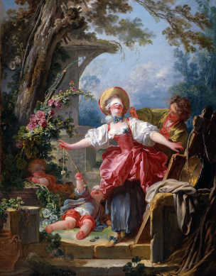 Fragonard A Le colin-maillard, c.1750-52. Toledo (Ohio), Museum of Art