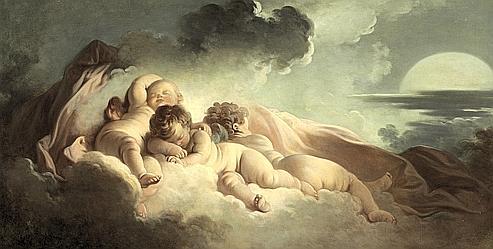Fragonard La nuit 1767-1773 Coll privee