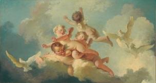 Fragonard Le jour 1767-1773 Coll privee