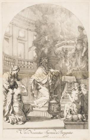 Lairesse 1668-70 Ubi Necessitas Speranda Benignitas philadelphia museum of arts