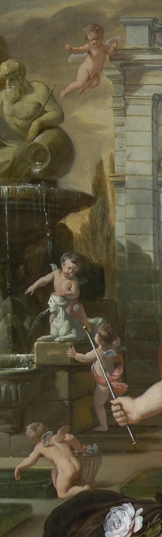 Lairesse 1668 Les cinq sens Glasgow museums enfants