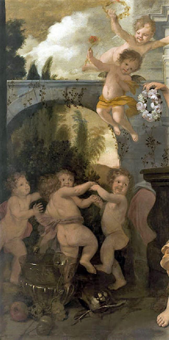 Lairesse 1668 ca Le printemps de la vie Museo Nacional de Bellas Artes La Havane amours