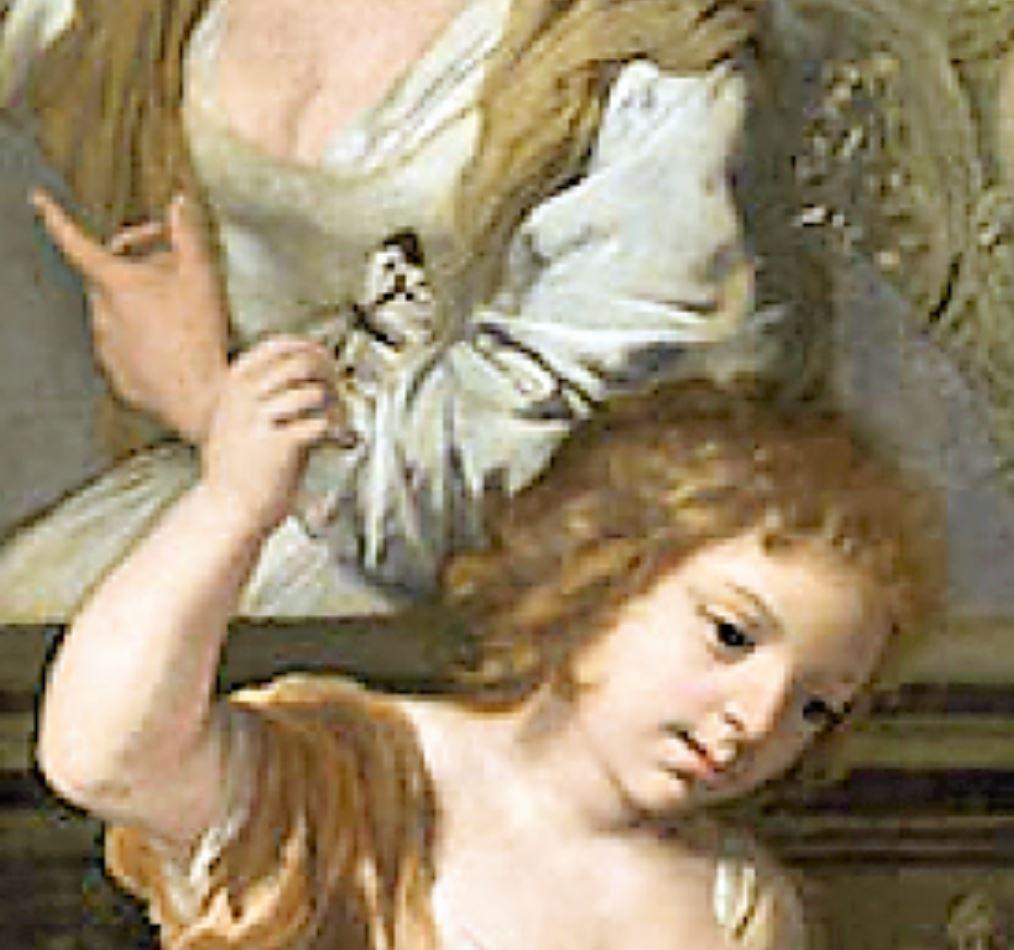 Lairesse 1668 ca Le printemps de la vie Museo Nacional de Bellas Artes La Havane paipilllon