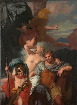 Lairesse 1680 ca Mercury Ordering Calypso to Release Odysseus Rikjsmuseum