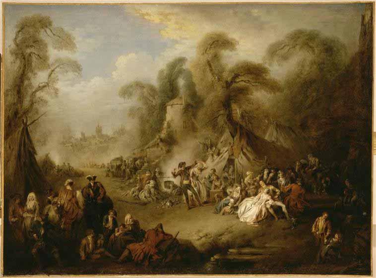Pater 1728 Rejouissance de soldats Louvre