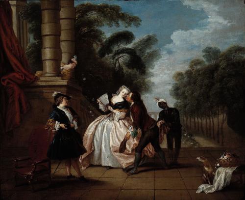 Pater 1733 ca Le baiser rendu musee cognacq jay